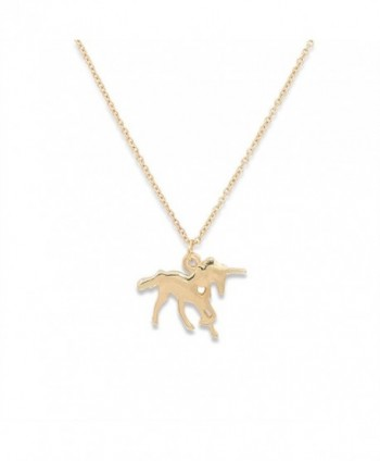 Hanloud Unicorn Pendant Necklace Animal in Women's Pendants