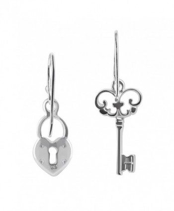 Loving Sterling Silver Dangle Earrings