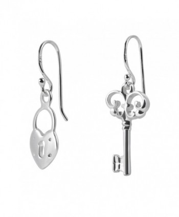 Loving Sterling Silver Dangle Earrings in Women's Drop & Dangle Earrings