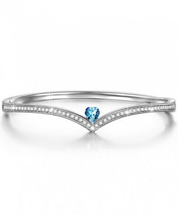 LadyColour Swarovski Bracelets Valentines Anniversary