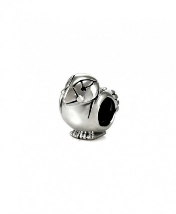 Ohm Beads Sterling Silver Perfect Puffin Bead Charm - C511V93WU4X