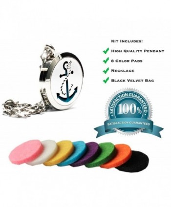 Anchor Essential Diffuser Necklace Aromatherapy