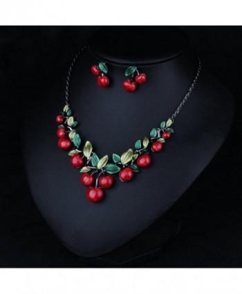 Hamer Jewelry Statement Necklace Earrings in Women's Jewelry Sets