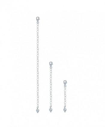 Sterling Pendant Necklace Bracelet Extender