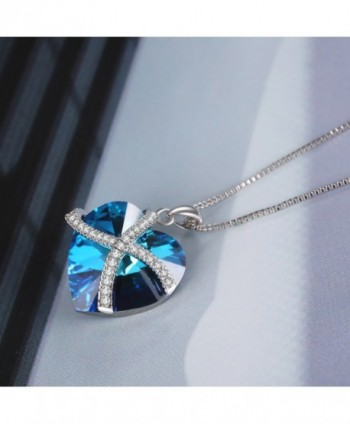 Necklace Pendant Austria Crystal Fashion in Women's Pendants