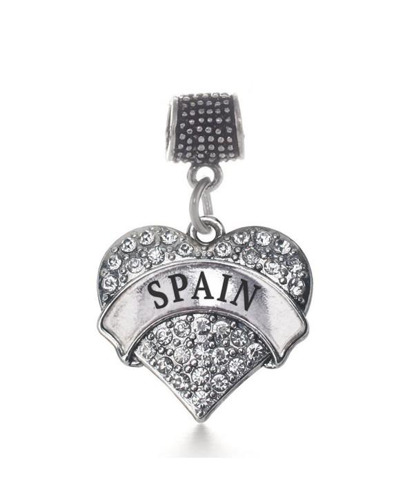 Inspired Silver Bracelets Compatible Chamilia - CC124RFGPSV
