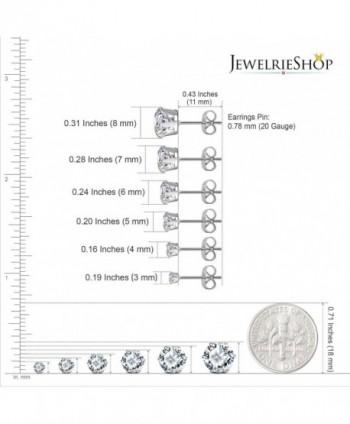 JewelrieShop Earrings Earings Hypoallergenic Nickel free in Women's Stud Earrings