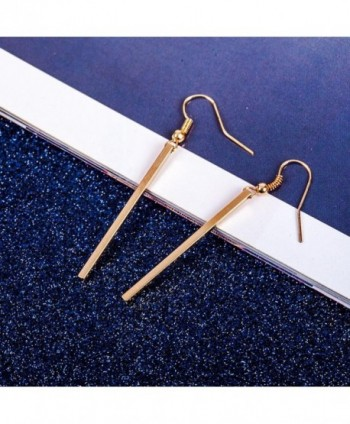 Misaky Hooked Rectangle Earrings Jewelry