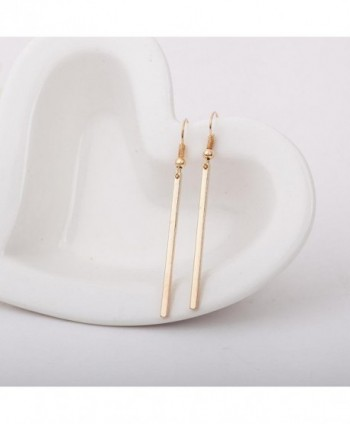 Misaky Hooked Rectangle Earrings Jewelry in Women's Drop & Dangle Earrings