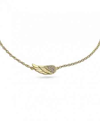 Plated Angel Feather Anklet Silver