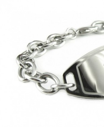MyIDDr Pre Engraved Customized Diabetes Bracelet in Women's ID Bracelets