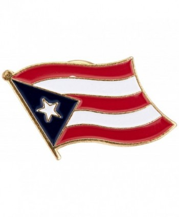 US Flag Store Puerto Rico Flag Lapel Pin - C31125DEUTJ