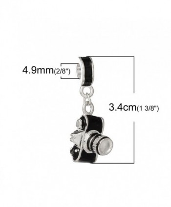 Photographer Camera Dangle Charm Bracelets in Women's Charms & Charm Bracelets
