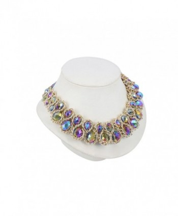 ShoppeWatch Statement Necklace GoldTone Gargantillas in Women's Choker Necklaces