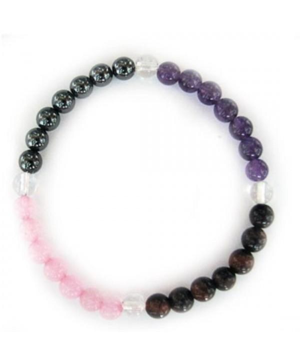 Gemstone Energy Meditation Bracelet - ANTISTRESS - CZ1169GULC3