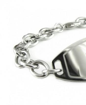 MyIDDr Pre Engraved Customized Bariatric Bracelet in Women's ID Bracelets