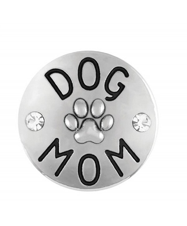 Ginger Snaps Dog Mom SN20-65 (Standard Size) Interchangeable Jewelry Accessories - CK185M8W5OE