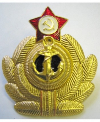 Russian Military Army Navy Anchor * Hat Pin Star Cap Badge Kokarda * xm.Anchor - CG1146J5LDT
