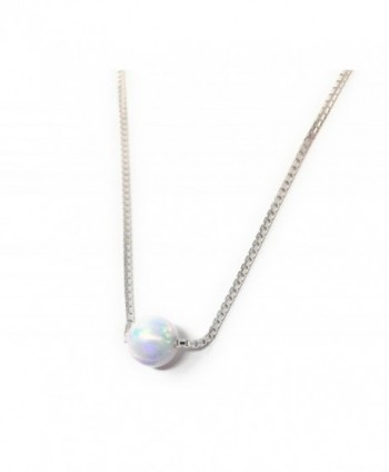 Sterling Silver Necklace Little Choker in Women's Pendants