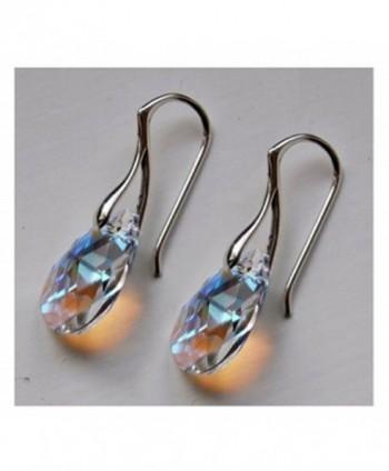 Royal Crystals Sterling Swarovski Borealis in Women's Drop & Dangle Earrings