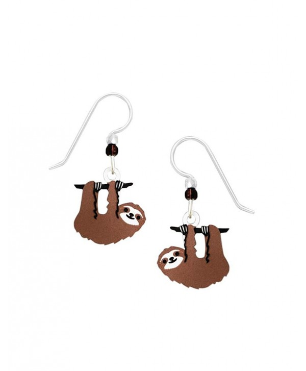 Sienna Sky Hanging Sloth Earrings 1938 - CG12M3R0MT3