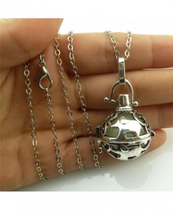 Vintage Elephant Essential Diffuser Necklace in Women's Lockets