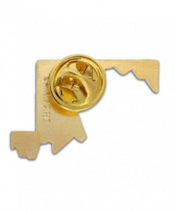 PinMarts State Shape Maryland Lapel in Women's Brooches & Pins