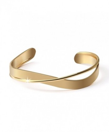 Komene Plated Copper Bangle Bracelet