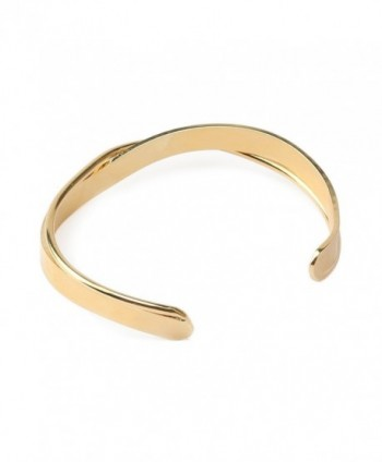 Komene Plated Copper Bangle Bracelet in Women's Cuff Bracelets