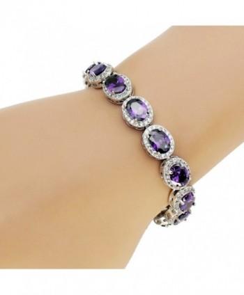 Ladies Bracelet Amethyst Citrine Peridot