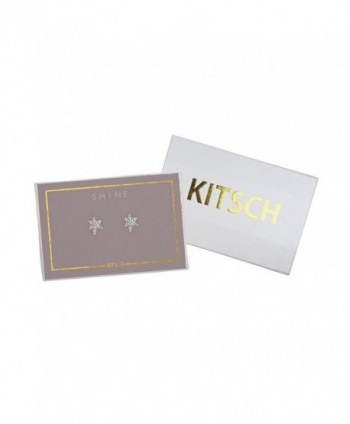 KITSCH Icon Collection Pave Earrings