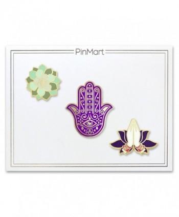 PinMarts Namaste Fatima Succulent Enamel