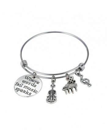 Music Jewelry Music Bracelet Music Teacher Charm Bracelet Music Teacher Bracelet - Bracelet - CN1879IT6XE