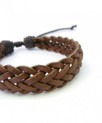 APECTO Braided Wristband Bracelet Handmade