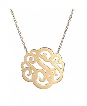 HUAN XUN Gold Stainless Monogram