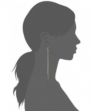 Kenneth Jay Lane Fishhook Earring