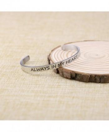 Bracelet Friend Bangle Engraved Stainless