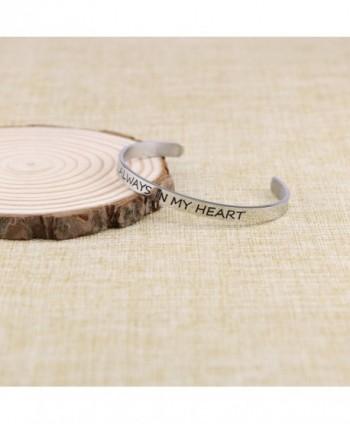 Bracelet Friend Bangle Engraved Stainless in Women's Bangle Bracelets