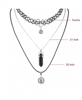 Zhenhui Necklace Vintage Stretch Elastic in Women's Jewelry Sets
