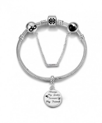 Bracelets Engraved Forever Friendship Jewelry - CN1864E6AN6
