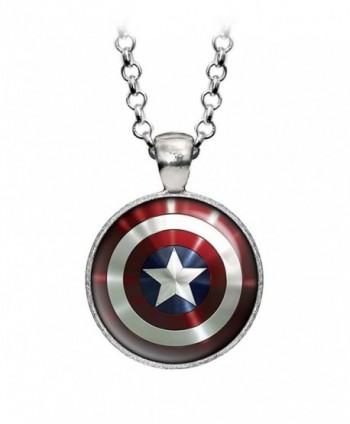 Necklace Avengers Superhero Earrings Presents