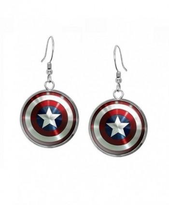 Necklace Avengers Superhero Earrings Presents in Women's Jewelry Sets
