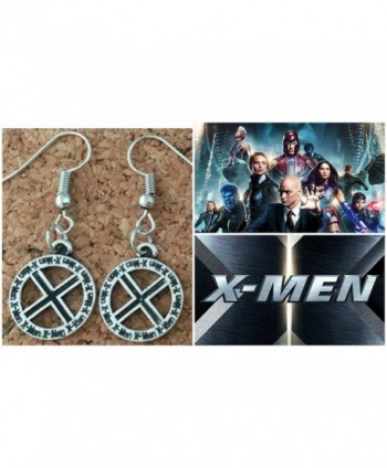 Marvel Comics Dangle Earrings Athena