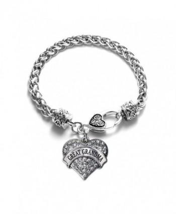 Inspired Silver Grandma Braided Bracelet