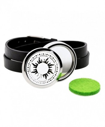 IU Mode Stainless Aromatherapy Essential in Women's Bangle Bracelets