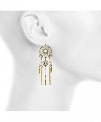 Lux Accessories Navajo catcher earrings
