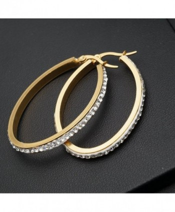 Anni Coco Stainless Crystal Earrings