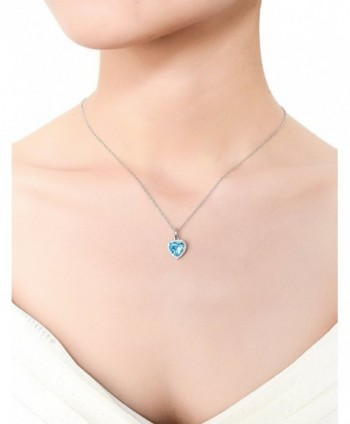 Necklace Birthstone Valentines Girlfriend Anniversary