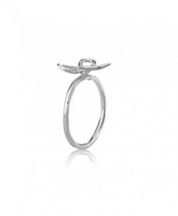 Sterling Silver Polished Dainty Stackable