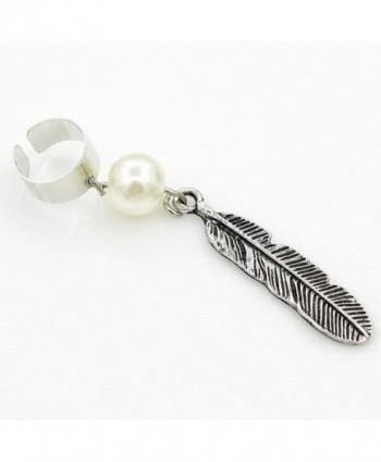 megko Vintage Blue Crystal Rhinestone Peacock Feather Leaf Big Dangle Drop Earrings - C3129Y455WR